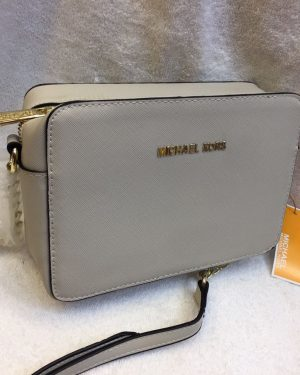 CE02 Michael Kors Crossbody Off White